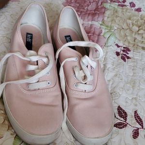 Pink keds Gently used size 9